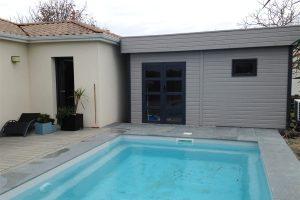 Abris technique pour piscine